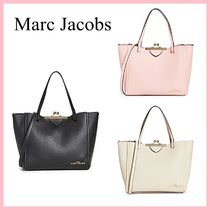 Marc Jacobs The Kiss Lock Tote トートバッグ 3色 送料込み