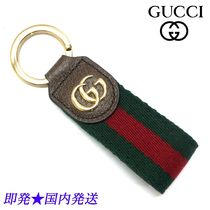 GUCCI 523161 HE2NG 8742 オフィディア キーチェーン (新品)