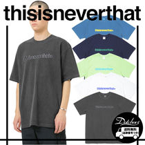 thisisneverthat Cracked T-Logo Tee MH1370 追跡付