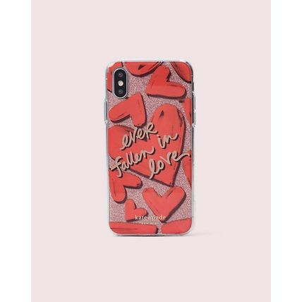 kate spade new york スマホケース・テックアクセサリー kate spade☆ ever fallen in love iPhone XS/XS Max ケース