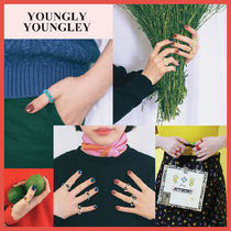 ◆yOungly yOungley◆ TIN TIN RING (6種) ビーズリング 可愛い