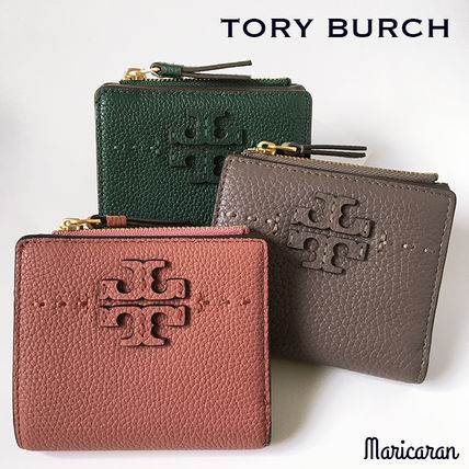 Tory Burch 折りたたみ財布 【セール!】TORY BURCH * MCGRAW MINI FOLDABLE WALLET