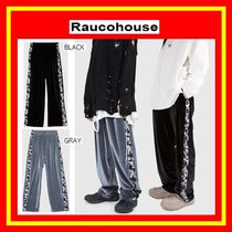 [Raucohouse] VELVET LINE EASY PANTS /2色/男女兼用/追跡付