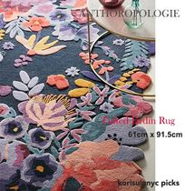 お花のブーケ*ANTHROPOLOGIE Tufted Jardin Rug 61cm x 91.5 cm