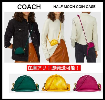 【COACH】☆大人気!マイクロサイズ☆ Half Moon Coin Case