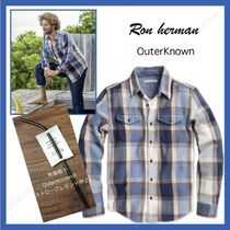 outerknown/ Blanket シャツ!!RH取り扱い!!厚手のネルシャツno,1