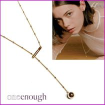 [ONE ENOUGH] Love Ball Clip Necklacee ネックレス 首飾り