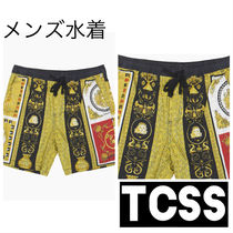 TCSS★ HOUSE OF SLIDE TRUNK <メンズ水着><柄プリント>
