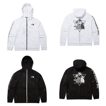 THE NORTH FACE ラッシュガード [THE NORTH FACE ]SURF-LIKE MESH ZIP UP★ジャケット★2色