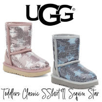 【UGG】TODDLERS CLASSIC SHORT II SEQUIN STAR BOOT トドラー
