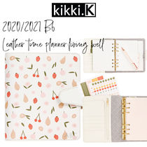【kikki.K】2020/2021 B6 LEATHER TIME PLANNER: LIVING WELL