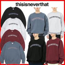 ★韓国の人気★【thisisneverthat】★ARC-Logo Crewneck★4色★