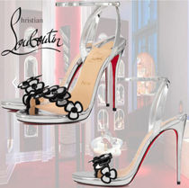 【直営店買付】 Louboutin Pansy Queen 120 mm