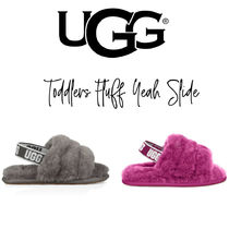 【UGG】TODDLERS FLUFF YEAH SLIDE キッズサンダル トドラー