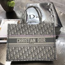 """【Dior】新色グレー """"BOOK TOTE"""" オブリーク スモール"""