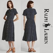 関税送料込 Polo Ralph Lauren Belted Short-Sleeve Dress