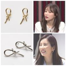 【Hei】knot post earring