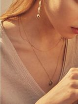 【Hei】coin layered necklace