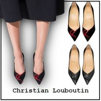 【Christian Louboutin】CL PUMP パンプス 8cm CLデザイン 全2色