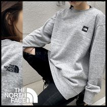 国内発送・正規品★THE NORTH FACE★MEN'S HEATHER LOGO CREW