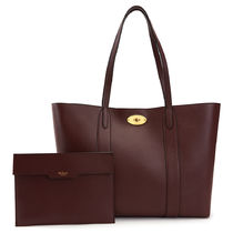 Mulberry 20SS Bayswater ポーチ付き ショッパー/トートバック
