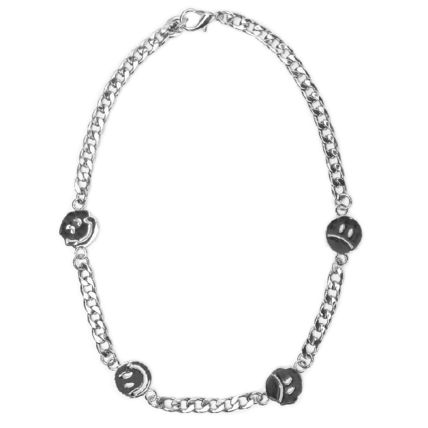 JADED LONDON SMILEY FACE CHAIN スマイル チェーン