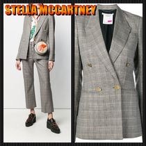 【STELLA MCCARTNEY】20SS★Double breasted check blazer★新作