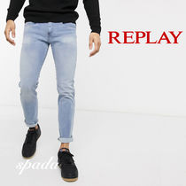SALE【Replay】スキニージーンズ ライト ブルー / 送料無料