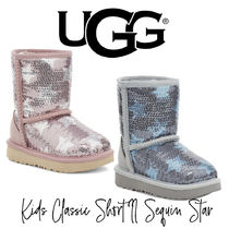 【UGG】KIDS CLASSIC SHORT II SEQUIN STAR BOOT 大人もOK!