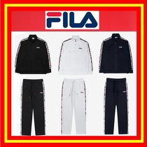 【FILA】 HERITAGE LINEAR TAPE TRACK SET◆3色◆男女兼用