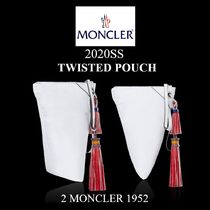 20SS★新作★2 MONCLER 1952★ TWISTED POUCH レディース ポーチ