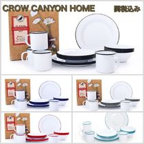 CROW CANYON HOME(クロウキャニオンホーム) バーベキュー・クッキング用品 安心の国内発送☆CROW CANYON HOME☆ビンテージプレートセット