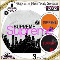 20SS /Supreme New York Sweater ニューヨーク セーター ロゴ