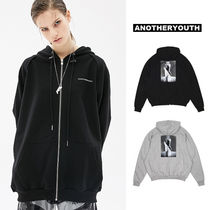 ANOTHERYOUTH(アナザーユース) パーカー・フーディ ANOTHERYOUTH正規品★20SS★スリットジップアップパーカー