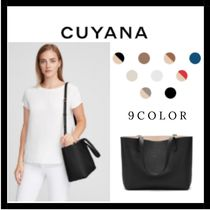 (13529) CUYANA☆Small Structured レザートートバッグ