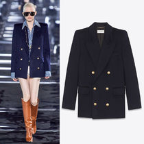 WSL1679 LOOK8 CASHMERE FLANNEL DOUBLE BREASTED JACKET