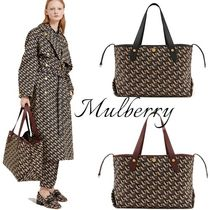 Mulberry(マルベリー) トートバッグ 【Mulberry】即対応 モノグラムプリント Mトートバッグ