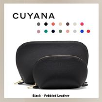 (13541) CUYANA☆日本未入荷 Leather Travel Case Set