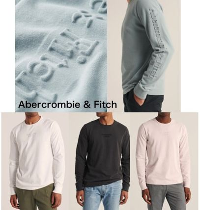 Abercrombie & Fitch ★Embossed ロングTシャツ★
