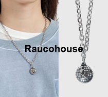 Raucohouse GLOBE PENDANT NECKLACE