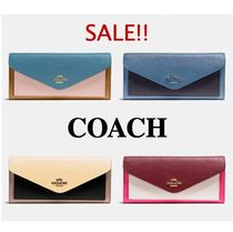 COACH* ソフト ウォレット Soft Wallet In Colorblock