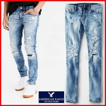 American Eagle Outfitters(アメリカンイーグル) パンツ ★American Eagle★Denim skinnyfit dystroy Pant☆正規品☆