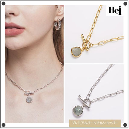 Hei ネックレス・ペンダント 日本未入荷Heiのlabrador choker necklace 全2色