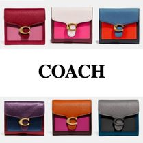 COACH* スモール ウォレット Tabby Small Wallet In Colorblock