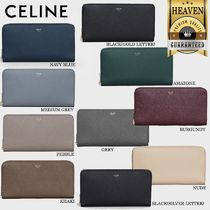 累積売上総額第1位!【CELINE】LARGE ZIPPED WALLET_10B553BEL