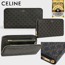 累積売上総額第1位!【CELINE】LARGE ZIPPED WALLET_10B552BQ3
