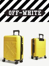 【OFF-WHITE】Arrow logo four-wheel cabin suitcase 52cm