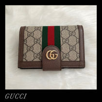 GUCCI Ophidia GGスプリーム カードスロット パスポートケース