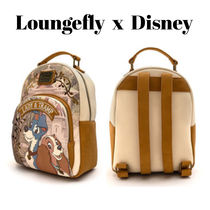 【Disney×Loungefly】Lady and the Tramp ミニバックパック