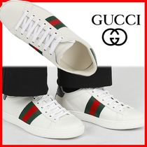 ☆関税込☆GUCCI☆ACE LEATHER SNEAKERS☆